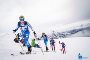 Skimountaineering Team races