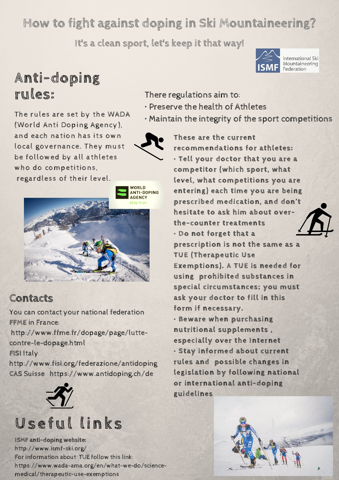 ANTIDOPING FLYER Draft